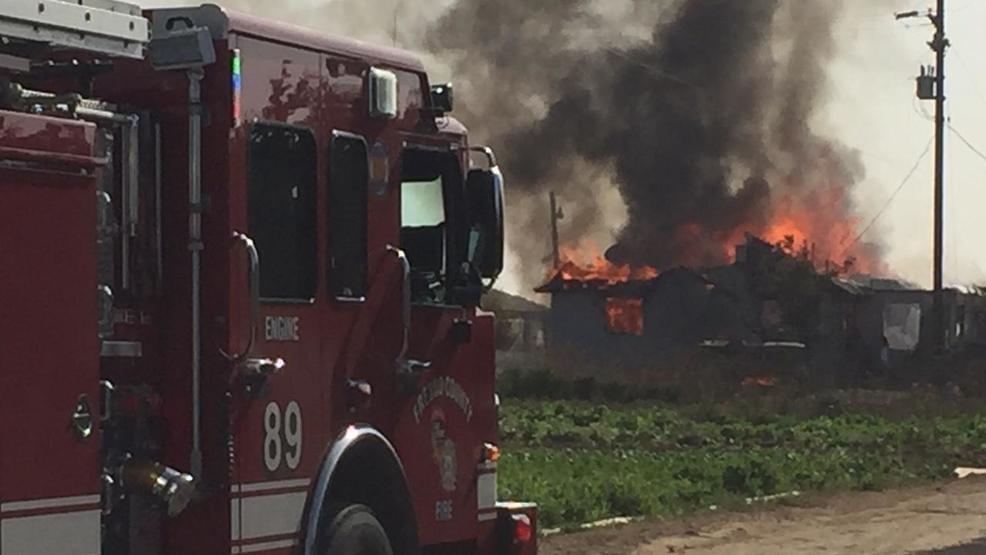 Fire Destroys Fresno County Home