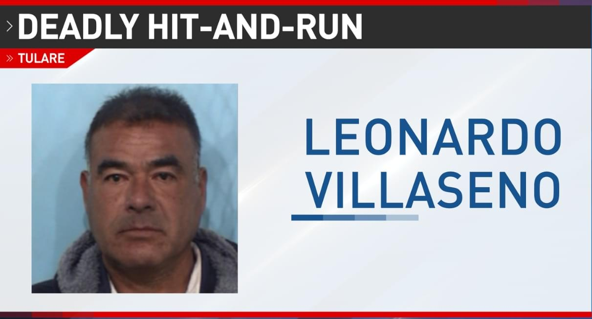 """Man Accused of Deadly Hit & Run in Tulare Arrested, Police Looking for Vehicle, """"Person of Interest"""""""