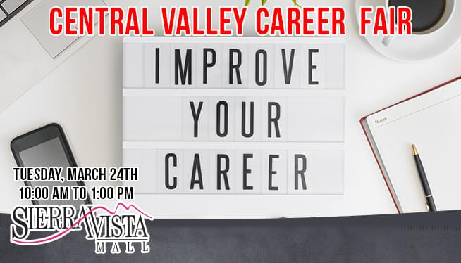 March 24: 2020 Central Valley Career Fair