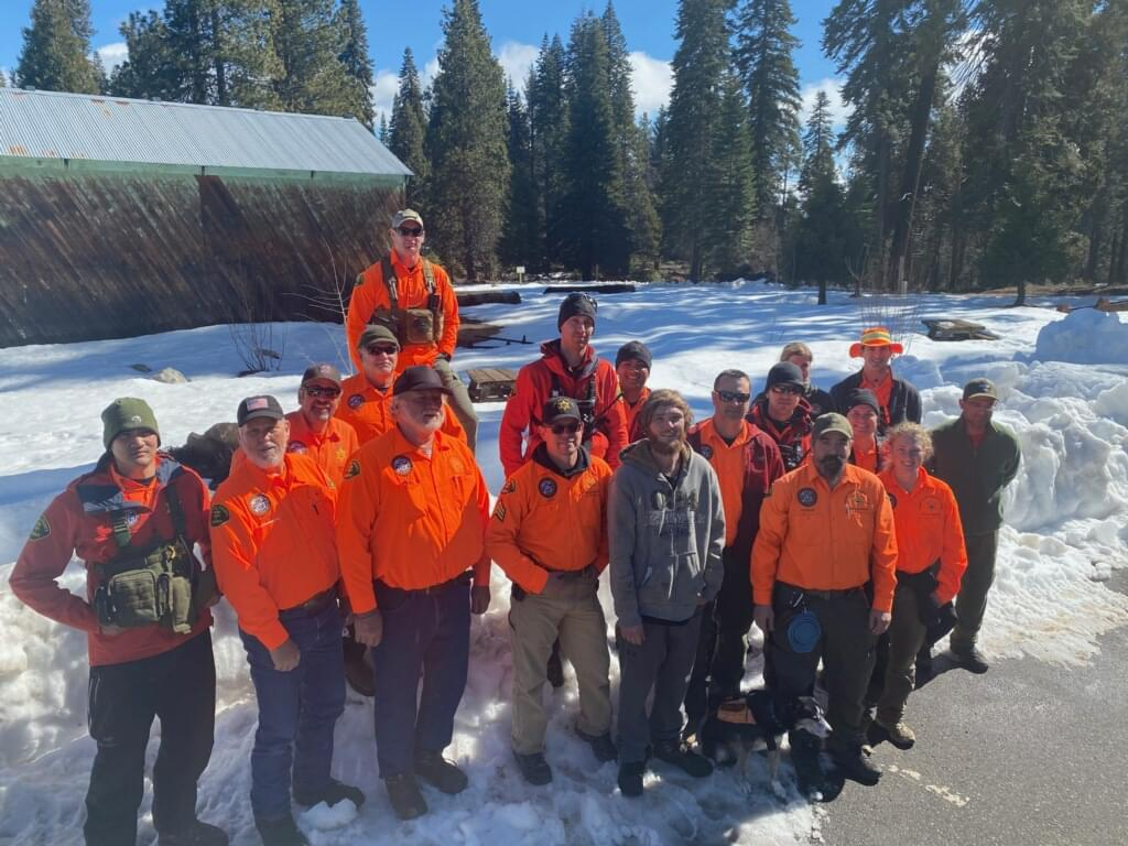 Search Team finds Man Missing for Days Near Shaver Lake.