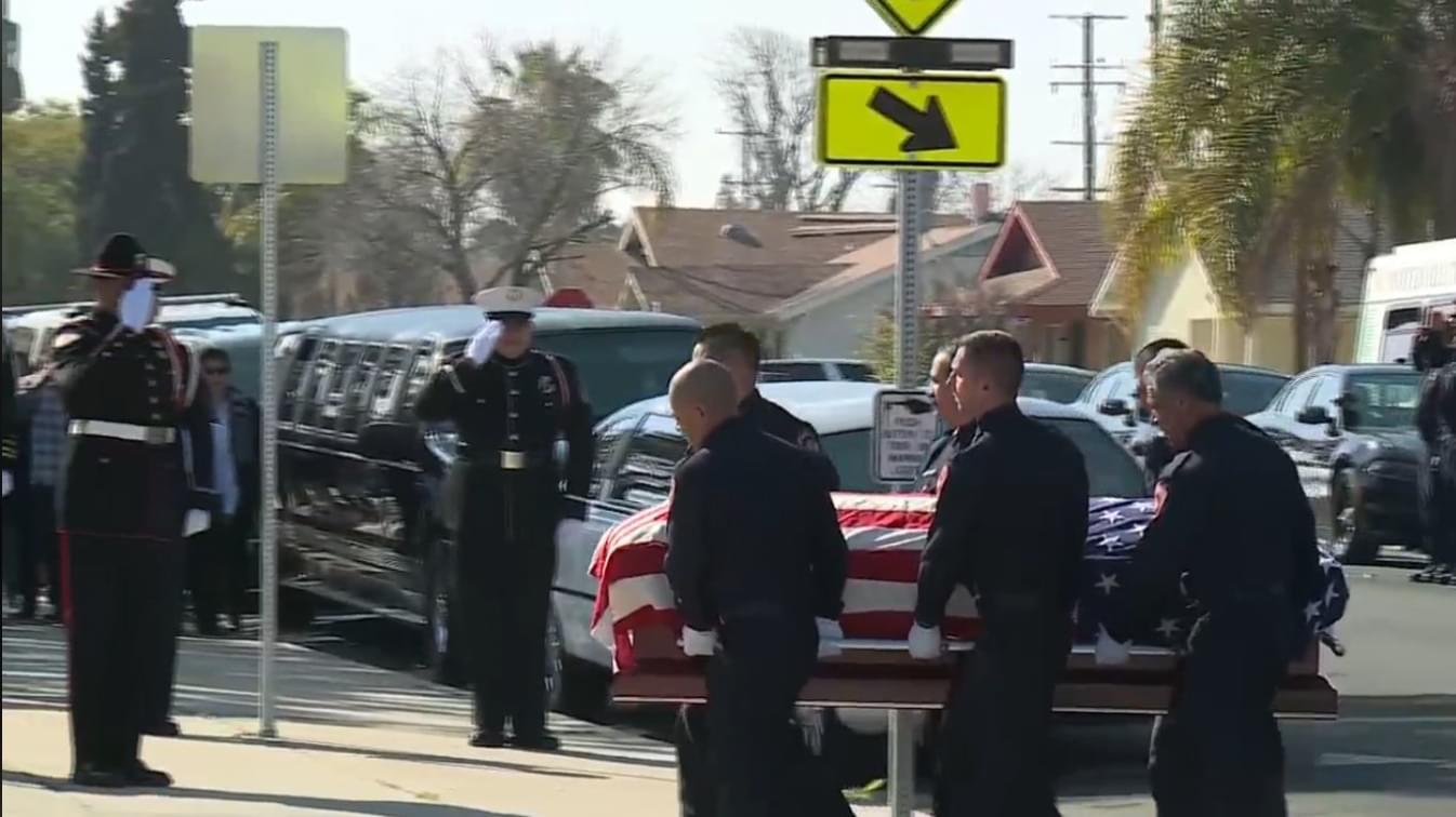 Funeral Mass for Fire Captain Who Died Fighting Porterville Library Fire