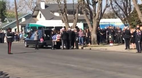 Funeral Service Held For Fallen Porterville Firefighter, Memorial Ahead