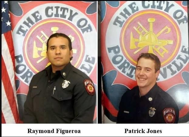 Service Held for Porterville Firefighters Killed in Library Fire