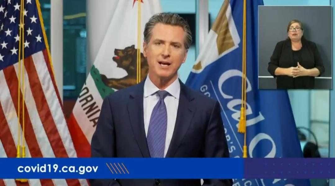 Gov. Newsom Launches Hotline, Says 'Check on Your Neighbor'