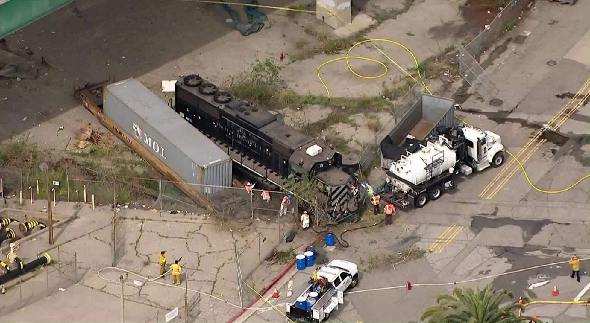 Engineer Tries to Crash Train Into USNS Mercy at the Port of LA