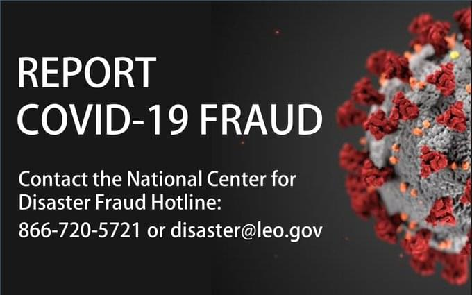 Department of Justice Activates COVID-19 Fraud Hotline
