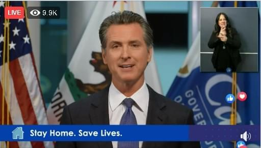 Newsom: Local Restaurants Could Benefit By Providing Meals for Seniors, Announces Other Initiatives