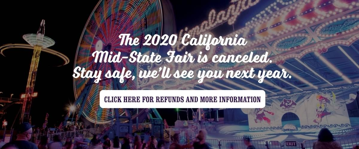 California Mid-State Fair in Paso Robles Canceled