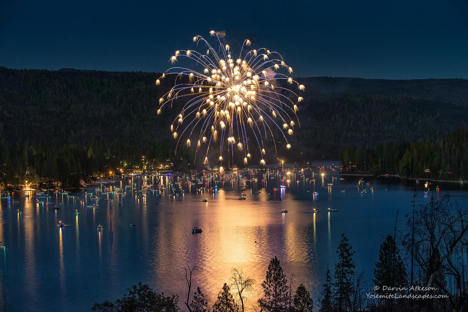 July 4th Fireworks Event at Bass Lake Canceled