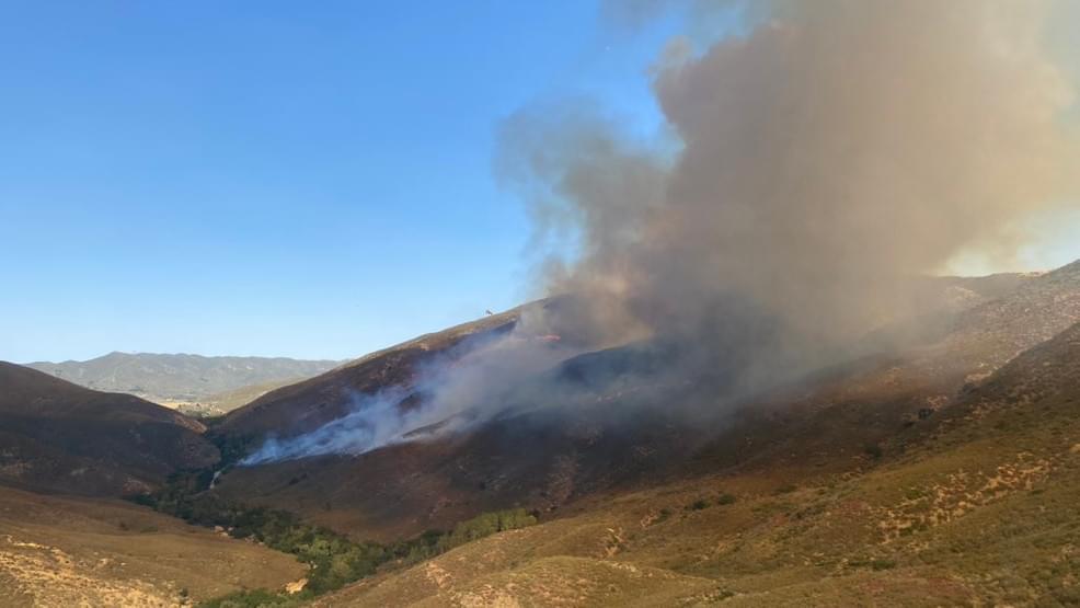 New Wildfire Breaks Out Near Santa Clarita