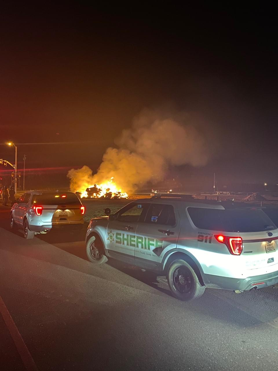Political Haystack in Dinuba Struck Again by Arsonists