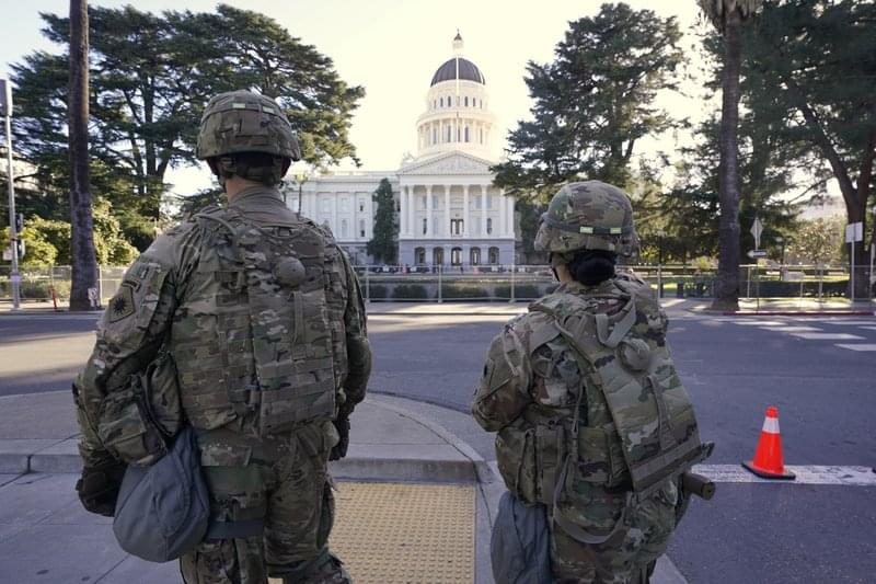 Calif. Spends $19 Million to Shield Capitol