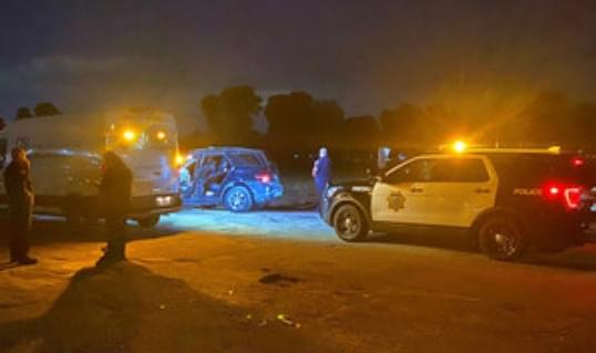Teens Lead Fresno Police on High-Speed Chase