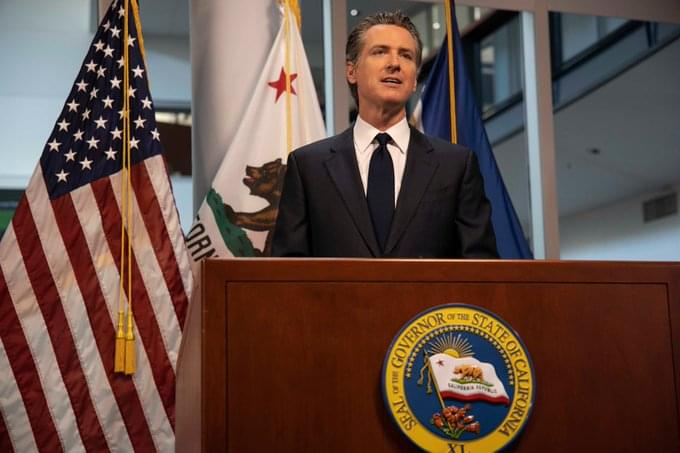Gov. Newsom Outlines School Re-Openings & Vaccination efforts
