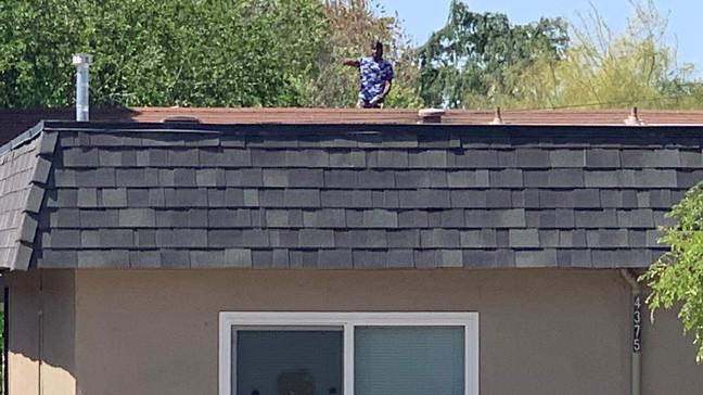 Fresno Police Arrest Man After Rooftop Standoff