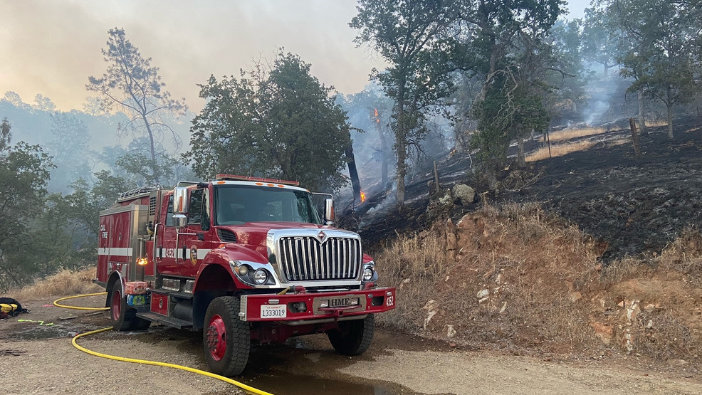 Crews Continue to Battle Wild Fire Burning Near Millerton Lake