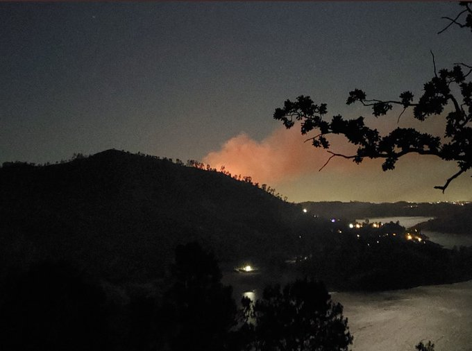 Illegal Fireworks Caused SkyFire Near Millerton Lake, Says Cal Fire