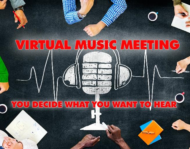 Virtual Music Meeting: You Control What You Want to Hear!