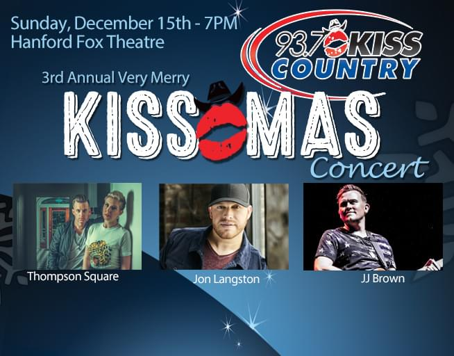 December 15:  The 3rd Annual Very Merry KISS-MAS Concert