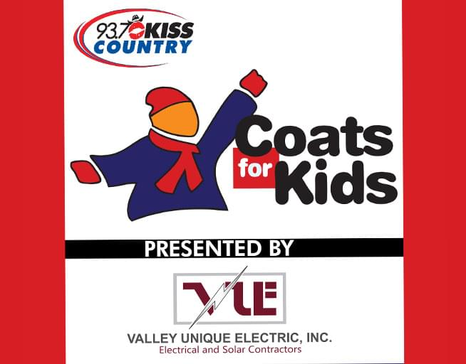 Kiss Country Coats For Kids Drive 2019