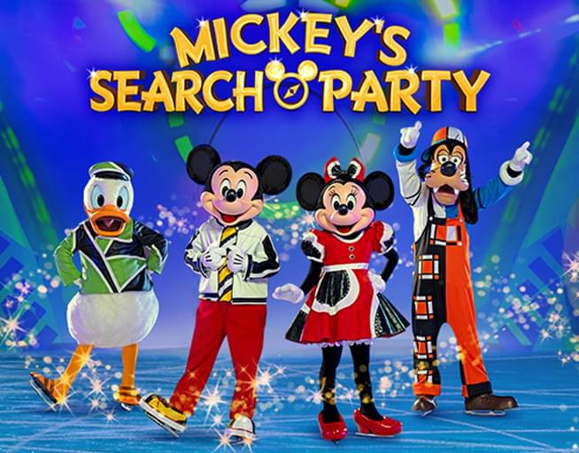 January 30 – February 3:  Disney on Ice presents Mickey's Search Party On Tour