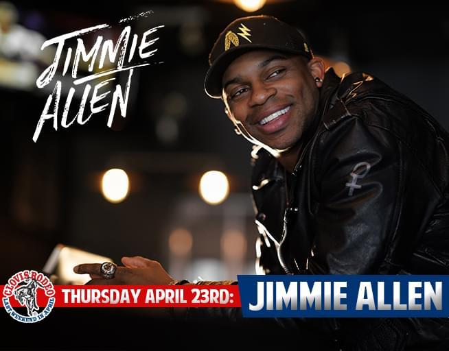 April 23: Jimmie Allen