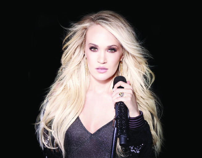 July 23:  Carrie Underwood