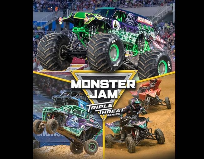 Enter to Win Monster Jam Tickets and Track Walk Passes