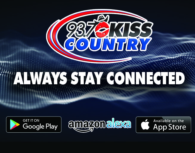 Always Stay Connected with 93.7 Kiss Country