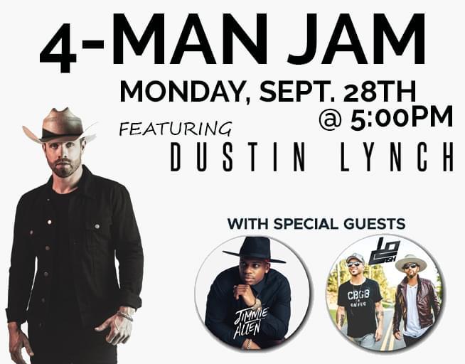 September 28:  4-Man Jam