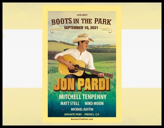 September 10:  Jon Pardi