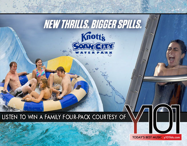Win tickets to Knott's Soak City Waterpark! Copy for Approval