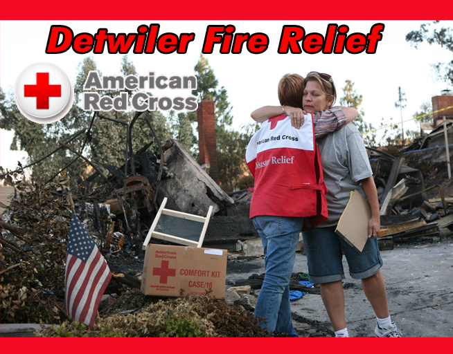 Red Cross Detwiler Fire Relief