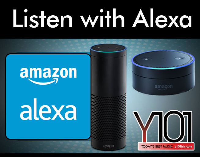 Listen to Y101 with Alexa!