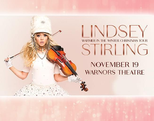 November 19:   Lindsey Stirling – Warmer In The Winter Christmas Tour 2019