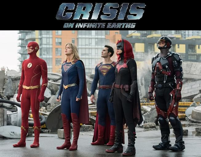 Watch Crisis On Infinite Earths and Win!