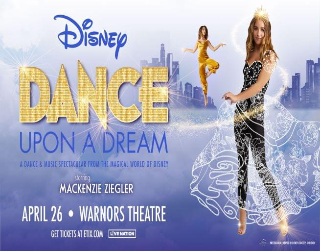 April 26:  Disney Dance Upon A Dream