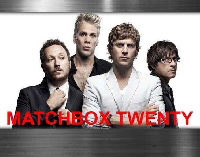 September 20: Matchbox Twenty