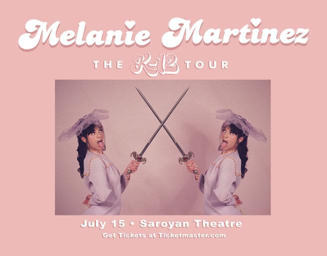 July 15:  Melanie Martinez
