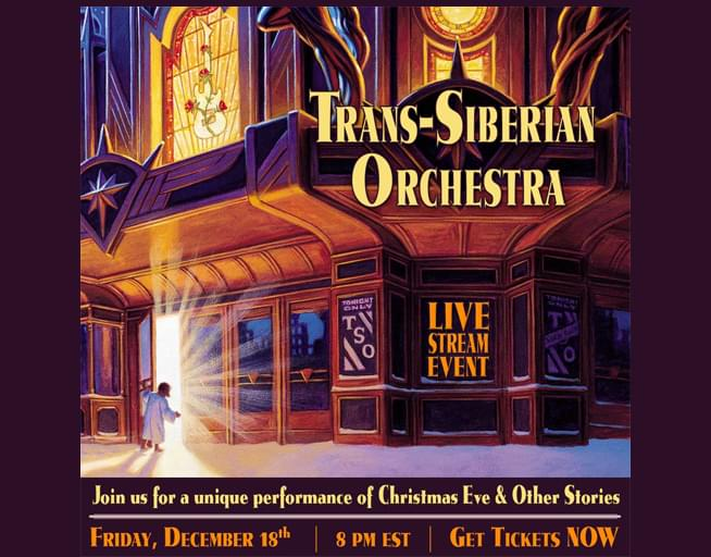 Win a Pass to the Trans-Siberian Orchestra Livestream Event