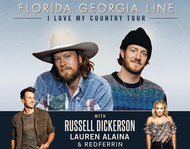 November 7:  Florida Georgia Line