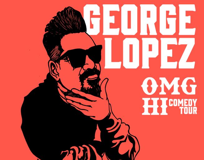 November 13:  George Lopez