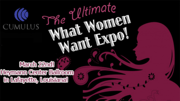 Cumulus Lafayette presents: What Women Want Expo 2015