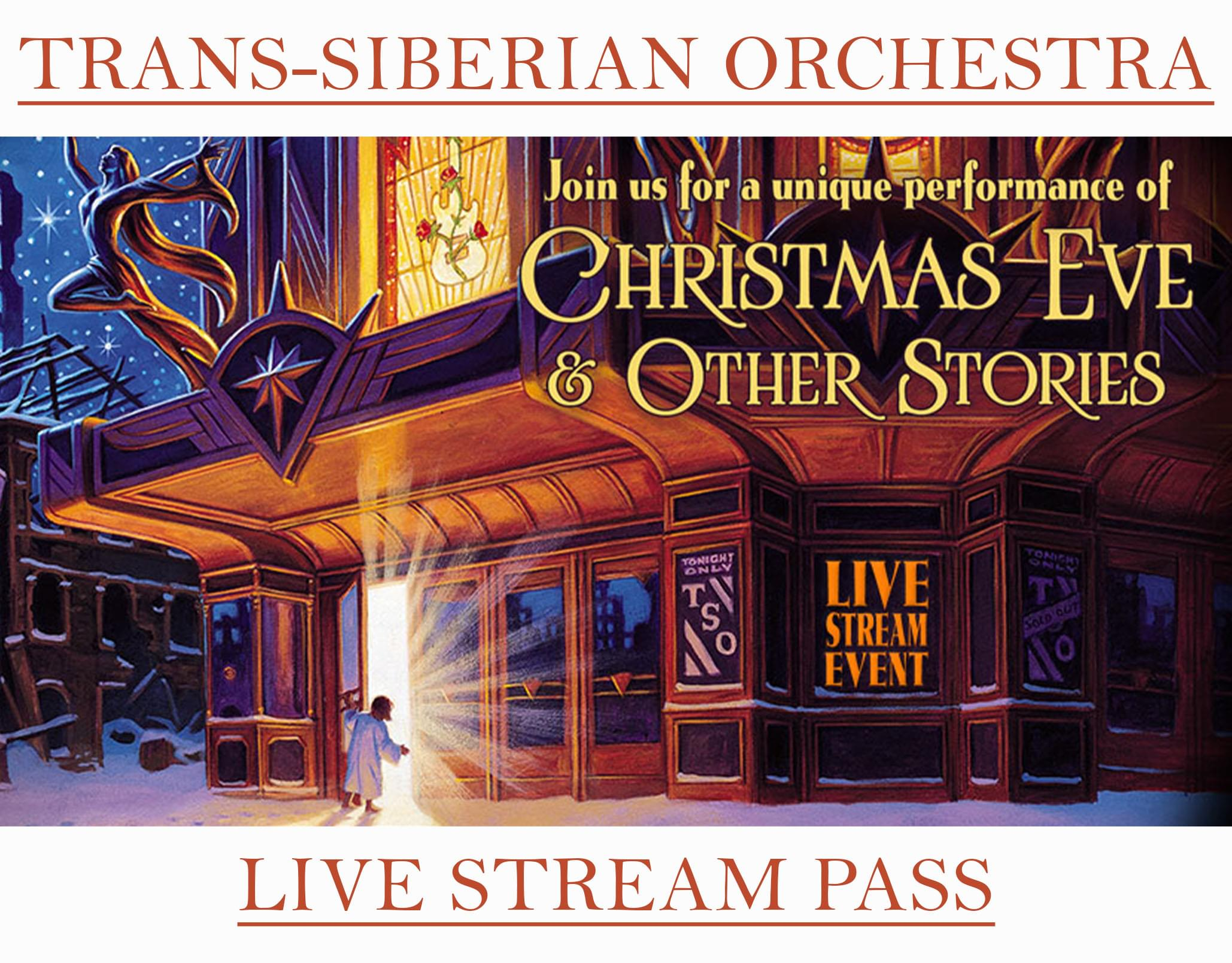 Trans-Siberian Orchestra Live Stream Event!