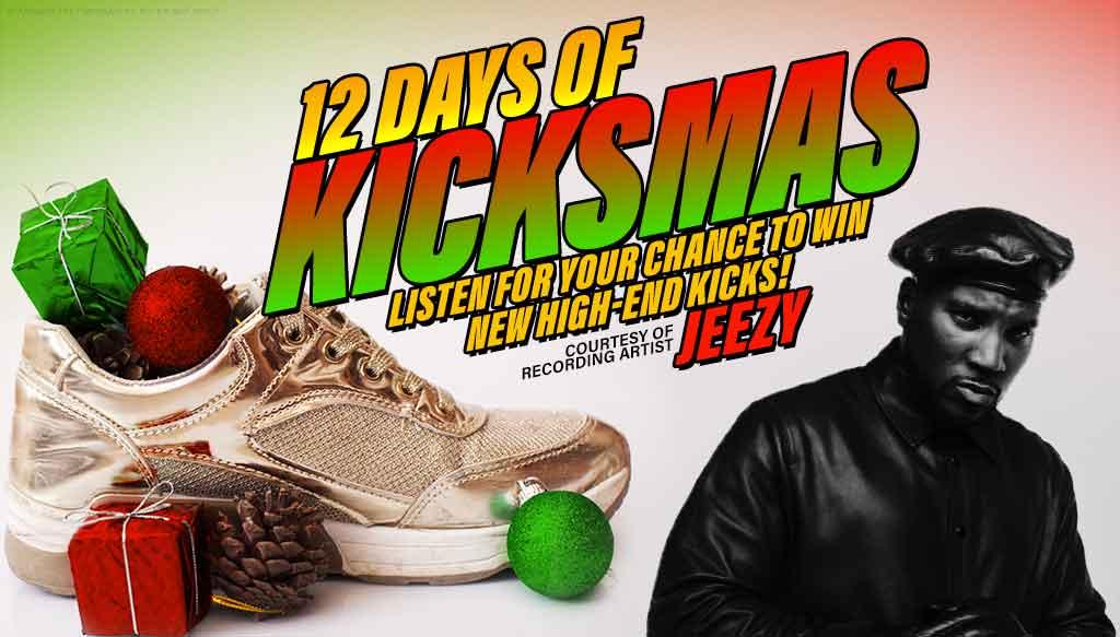 12 Days of Kicksmas