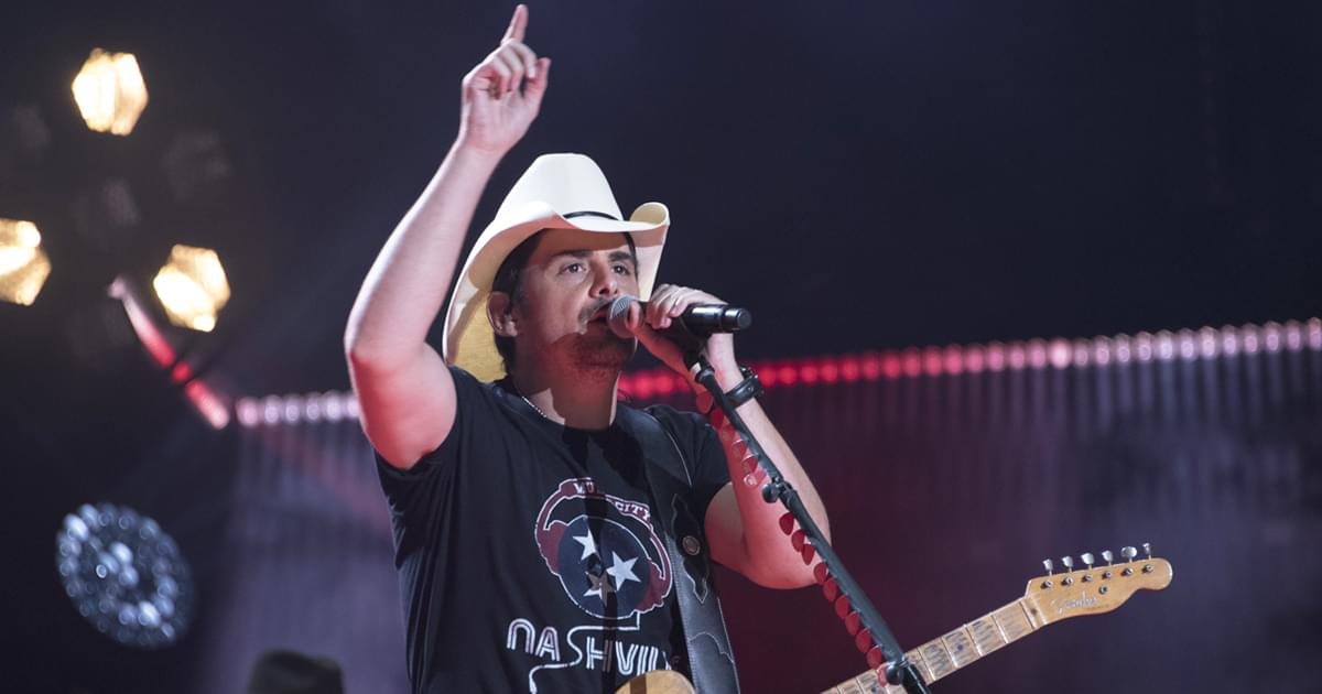 Brad Paisley's Nashville Concert Helps Raise $26,000 for His Free Grocery Store