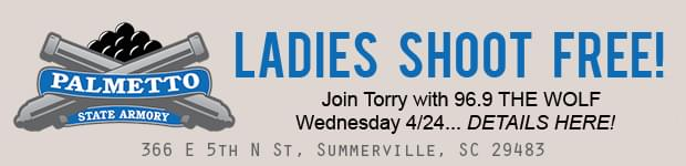 Ladies Night at Palmetto State Armory Summerville