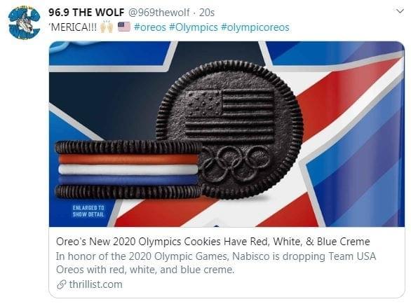 2020Olympic Oreos
