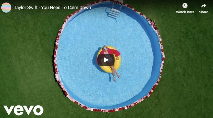 WATCH: Taylor Swift – You Need To Calm Down