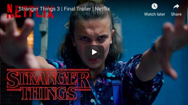 WATCH: Stranger Things 3 | Final Trailer | Netflix